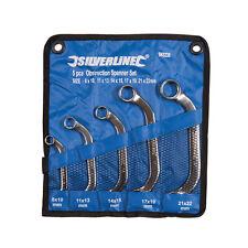 Silverline obstrucción Spanner Set 5pce 8-22mm Mechanic herramientas 945235