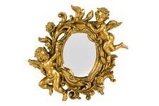 Espejo Espejo marco de la barroco hoja oro resina pared Ángel o Putto