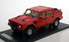 1987 Lamborghini LM002 Red Color in 1/18 Scale by CMF. New Release!