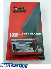 NEW TENG TOOLS 7pc T-HANDLE HEX ALLEN KEY/GO KART MOTO