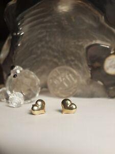GENUINE-375-YELLOW-GOLD-LADIES-HEART-EARRINGS
