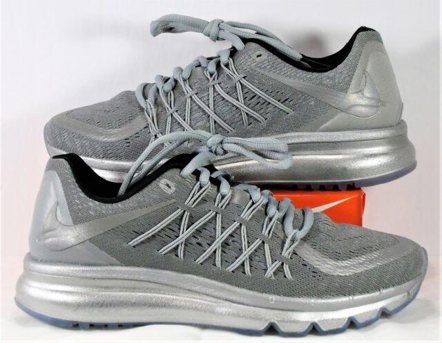 cheaper 3db1e 9449d Nike Air Max 2015 Reflective Silver   Black Running Shoes Sz 7 NEW 709013  001