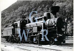 Baryt Dampflok Foto - SB Serie 60 Lok.Nr. 1154