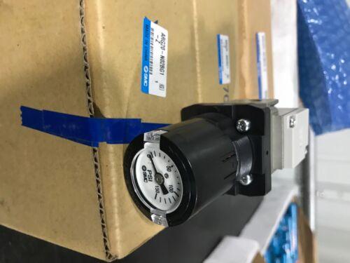 SMC ARG20K-N01G1-Z Pneumatic Pressure Regulator With Gauge