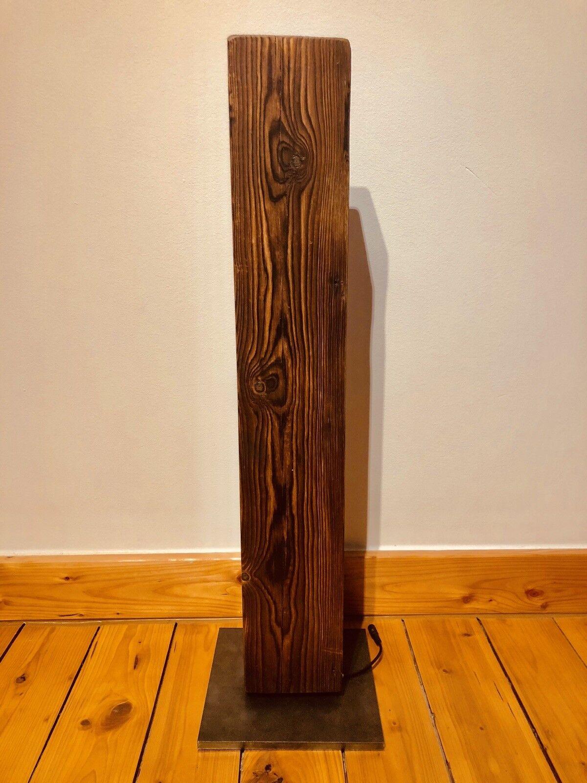 Lampadaire Lampe DEL Lampadaire Dekolampe vintage bois 70 70 70 cm   élégant  de6c3f