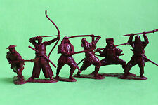 Japanese samurai Collectible Plastic Toy Soldiers set 1/32 54mm exclusive