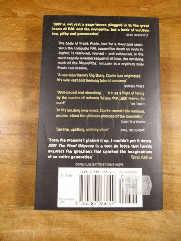 3001. The Final Odessey (1997, 12. oplag), Arthur C. Clarke