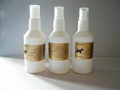 BABY POWDER  dog cologne perfume 300ml 3 x 100ml spray dog grooming health care