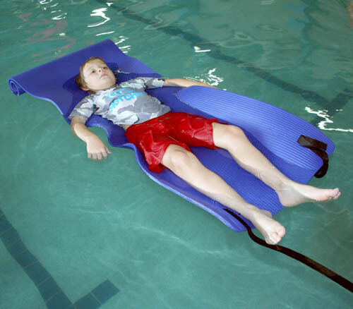 Giant Ribbed NonSlip Mat Aquatic Therapy Special Needs Swimming Wheelchair 7101