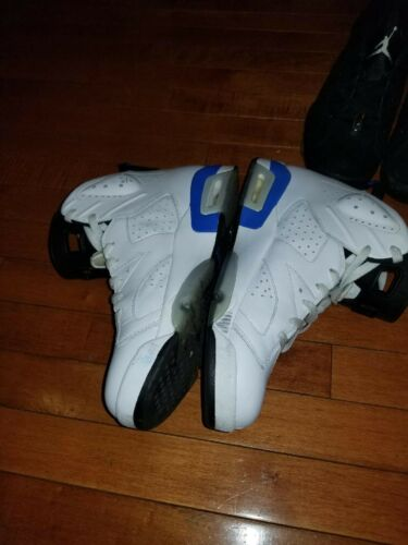 Blue Jordan 6 Air Retro Sport BxCdoe