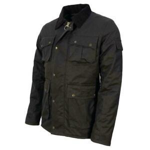 Mens Wax Jacket Antique Style Waxed Cotton Jackets Coat S ...