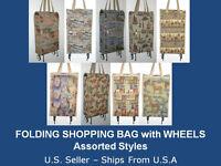 Folding Shopping Bag – Folding Shopping Cart With Wheels