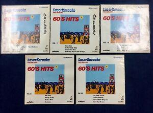 Lot-Of-15-Pioneer-Laser-Karaoke-Video-Sing-Along-8-Disks-50-60-70-80-s-CountryJ