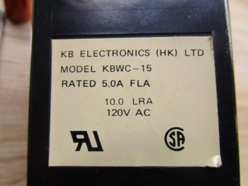 Industrial Automation & Motion Controls KB Electronics KBWC-15 ...
