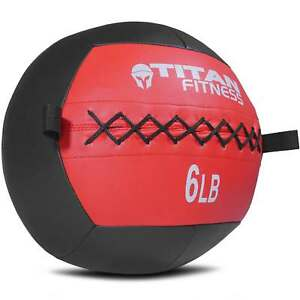Titan-Soft-Wall-Ball-Medicine-6-30-lb-Core-Workout-Cardio-Muscle-Exercises