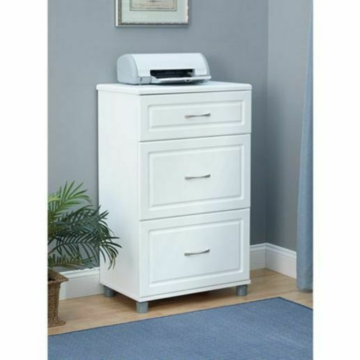 Newage Products Home Bar 3 Drawer Base Cabinet White For Sale