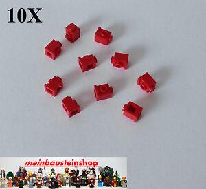 10x Lego 4070 Convertisseur Pierres Snot 1x1 M. 1 Baignoire. Rien Rouge Red-e Snot 1x1 M. 1 Seitl. Noppen Rot Red Fr-fr Afficher Le Titre D'origine
