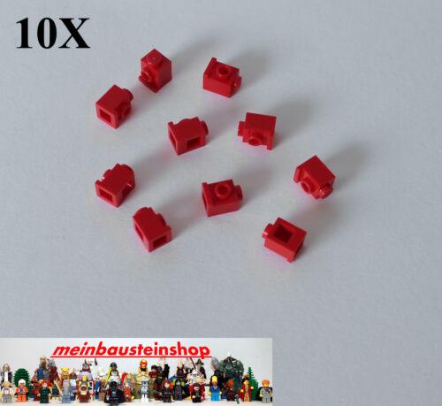 1 seitl Noppen Rot Red 10X Lego 4070 Konvertersteine Snot 1X1 m