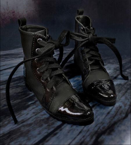 Mimi Collection MSD Doc 1//3 BJD Obitsu Doll Shoe Black Double Stitching BOOTs