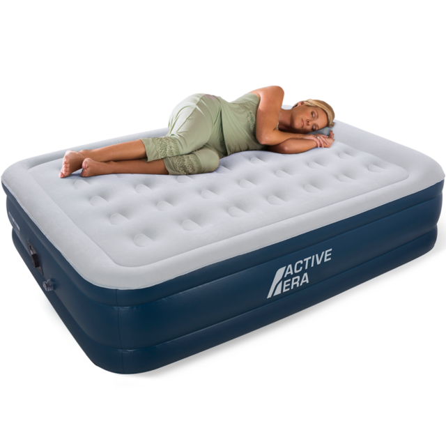 the latest 04bba 89046 Active Era Premium King Size Air Bed with Built-In Electric Pump and Pillow
