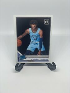 Ja-Morant-2019-20-Donruss-Optic-Rated-Rookie-BASE-RC-168-Morant-GRIZZLIES