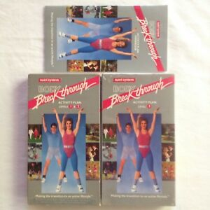 Nutri-System-Body-Breakthrough-Activity-Plan-VHS-Video-Fitness-Aerobics-Exercise