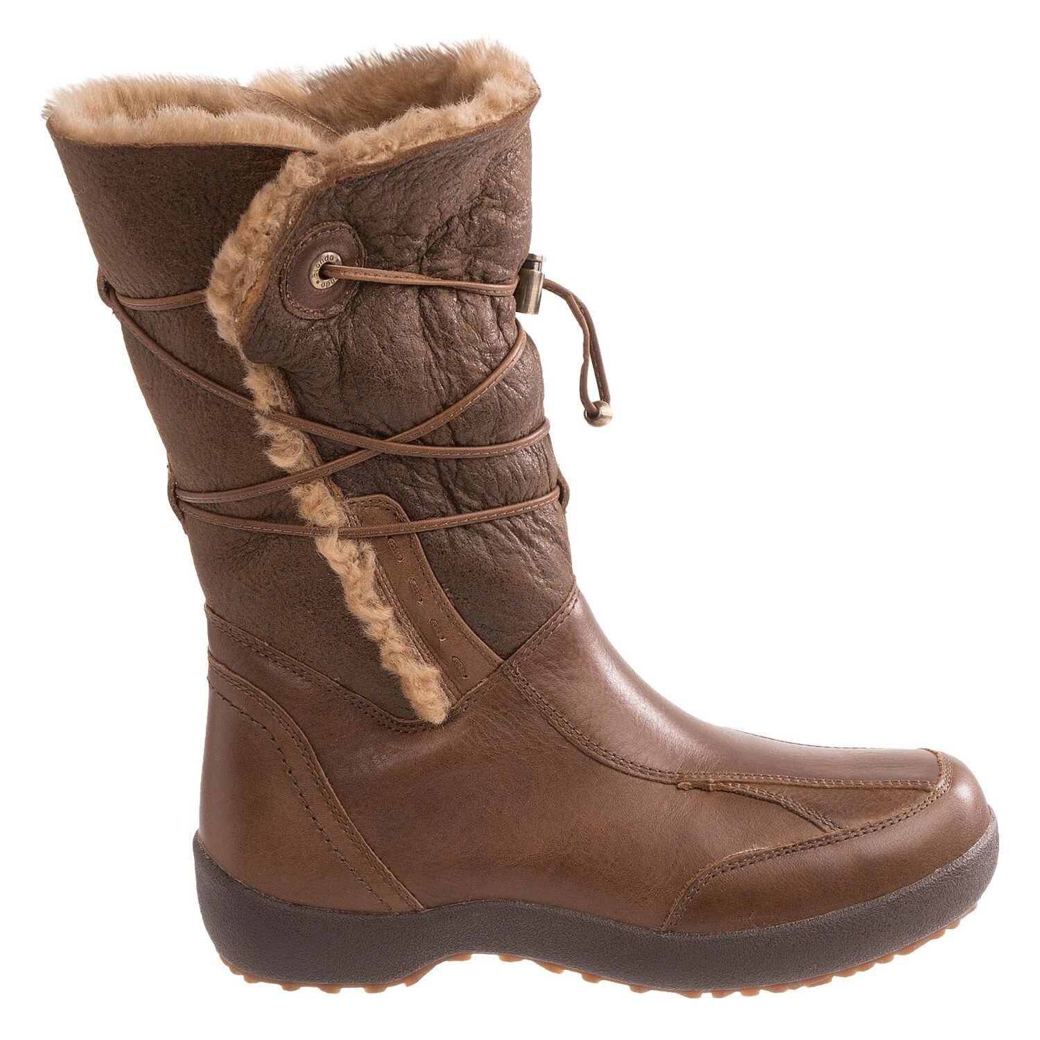 Blondo Waverly Hi Womens Cappuccino Brown Wool Lined Boots Size 10 New