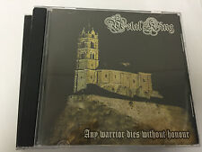 Metal King ‎– Any Warrior Dies Without Honour La Medula Espinal CD LMER - CD