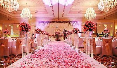 1000pcs Various Colors Silk Flower Rose Petals Wedding Party Decorations U