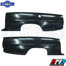 1966-67 Nova Quarter Panel SKIN with DOOR JAMB - AMD - PAIR