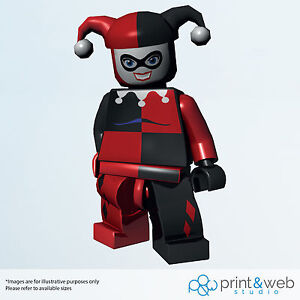 Lego Harley Quinn Vinyl Decal Wall Sticker DC Batman Kids