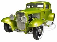 1932 Ford 5 Five Window Release 1 Lime 1/18 1 Of 996 Model Car By Acme A1805006