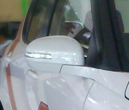 NEW Suzuki SWIFT Wing Mirror Back Cover Cap RIGHT DRIVERS 84718-68LA0-ZNL WHITE