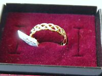 Seta Goldplated Cut Out Ring
