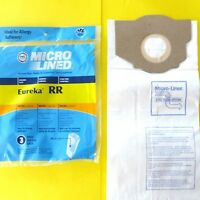 3 Eureka Rr Upright Vacuum Bags Smart Vac Boss Made By Dvc In The U.s.a.