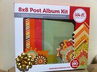 We R Memory Keepers - 8 X 8 Album & Album Kit 10 Design 280 Pcs