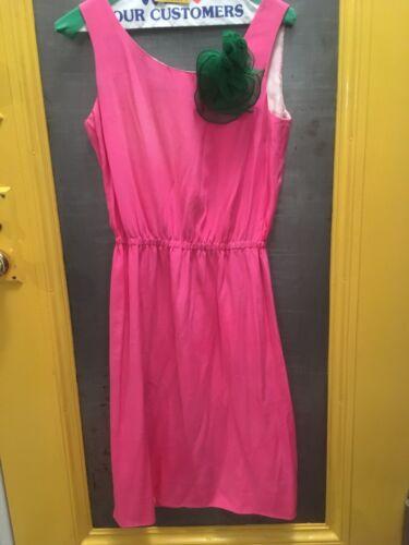 Vintage Rudi Gernreich Bubblegum Pink Silk 60's Mo