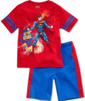 Superman 2 Piece Shorts Set -