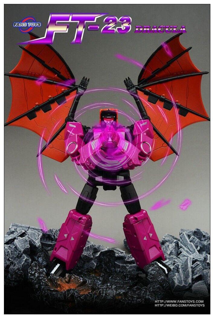 Smoky Transformers Giocattolo FT23 Dracula COMICI mindwipe MP azione cifra Nuovo