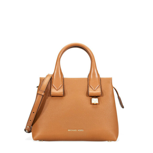 398ca0996448 Michael Kors Rollins Small Satchel Acorn Leather 30f8gx3s1l for sale ...