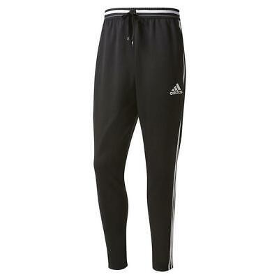 Adidas Uomo Condivo 16 Pantaloni Nero Bianco Palestra Corsa Fitness Nuovo E La Digestione Aiuta