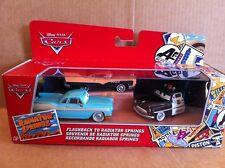 "DISNEY CARS DIECAST Flashback To Radiator Springs Gift Pack Derek ""Decals"" Dobbs"