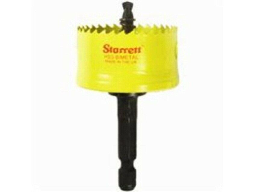 Starrett COMPLETE HOLE SAW ASSEMBLY Heat Resistant HSS- 16mm, 19mm Or 20mm