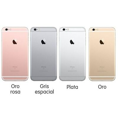 APPLE IPHONE 6S 64GB 1 AÑO DE GARANTÍA+ LIBRE+FACTURA+8ACCESORIOS DE REGALO