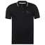 EMPORIO-ARMANI-mens-NEW-EA7-slim-fit-polo-t-shirt-top-black-cotton-with-collar thumbnail 1