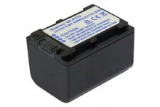 Batterie 1960mAh pour Sony HDR-CX360E CX360V CX360VE CX520VE CX550 CX550E