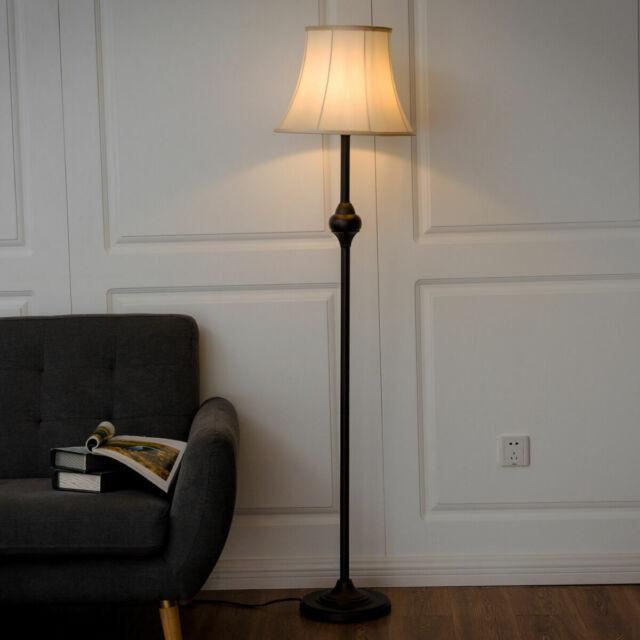 Jacob Oak Floor Lamp Beacon Lighting Lucci Decor For Sale Online Ebay