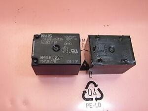 Das Beste Js1apf-b-12v Relais Relay Coil Voltage 12v 10a 250v Nais Panasonic Waschmaschinen & Trockner