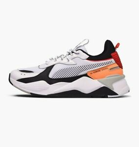 Details about Puma RS X Tracks Lifestyle Sneakers White Orange Red Limited Men New 369332 02