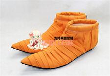 Dragon Ball Piccolo Orange Halloween Cosplay Shoes Boots X002
